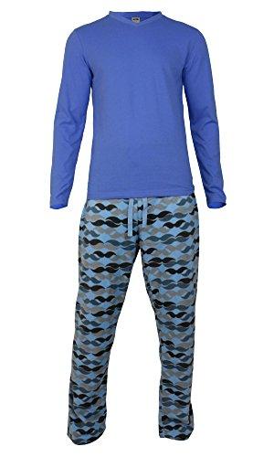 pigiama-invernale-caldo-da-uomo-in-pile-con-maglia-e-pantalone-mid-blue-mustache-pant-mpj-xxxx-large