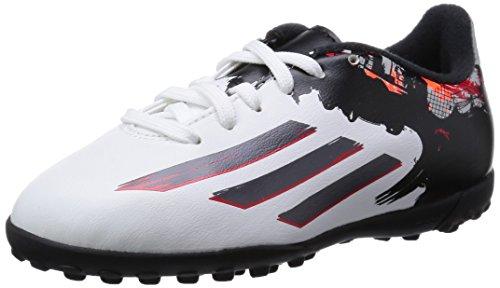 adidas Kinder Fussballschuhe Messi 10.3 TF ftwr white/granite/scarlet 38