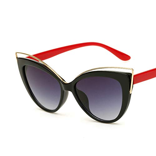 Aeici Sonnenbrillen Frauen mit UV Schutz PC Katzenaugenform Sonnenbrille Stil 4 Sonnenbrillen