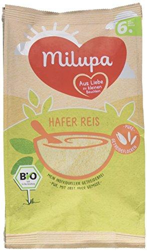 Milupa Hafer Reis Getreidebrei 6. Monat, 1er Pack (1 x 180 g)