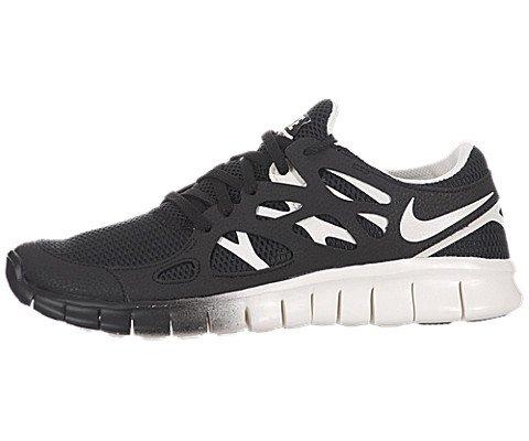 Nike Free Run 2 EXT W, Frauen Laufschuh, schwarz/sail - 6 (Frauen Nike Schwarz Free Run)