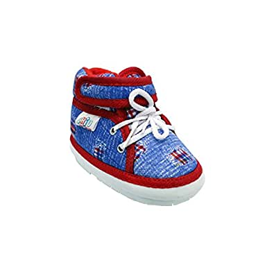 CHIU Chu-Chu Blue \u0026 Red Shoes with Lace