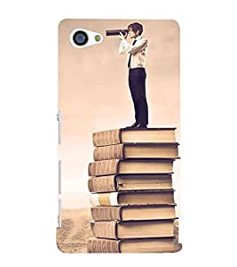 Fabcase creative photography combination of art books classic guy Designer Back Case Cover for Sony Xperia Z5 Compact :: Sony Xperia Z5 Mini