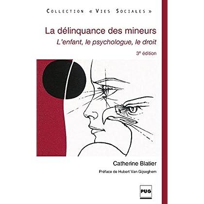 La Délinquance des mineurs: L'enfant, le psychologue, le droit - 3e édition (Vies sociales)