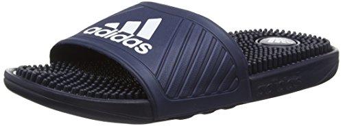 adidas Herren Voloossage Dusch-& Badeschuhe, Blau (Collegiate Navy/Ftwr White/Collegiate Navy), 44.5 EU