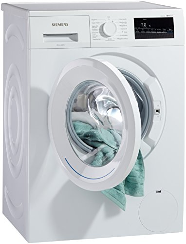 Siemens iQ300 WM14N2A0 Waschmaschine Frontlader / A+++ / 157 kWh/Jahr / 1390 UpM / 7 kg / Weiß / Großes Display mit Endezeitvorwahl / WaterPerfect - 7
