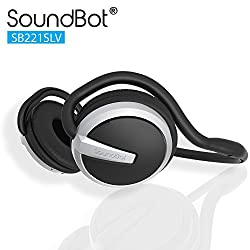 Soundbot SB221 Bluetooth Headphones (Black)