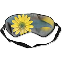 Blühende Schlafmaske aus Seide mit gelben Blüten für Schlafrollos preisvergleich bei billige-tabletten.eu