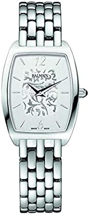 Balmain Women's Silver Dial Metal Band Watch - B17113314, Analog Dis
