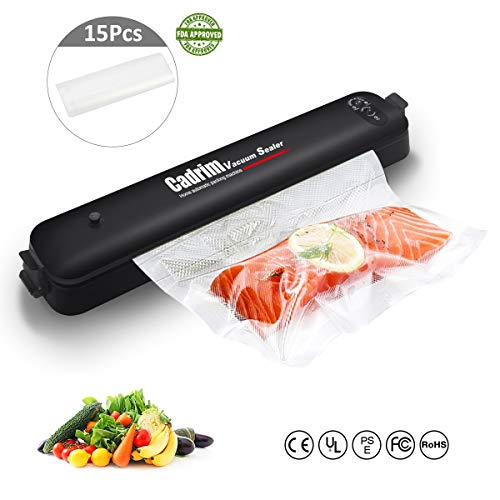 Machine Sous Vide,Cadrim Machine de Scellage Vacuum Sealer Appareils de Mise Sous Vide Machine de...