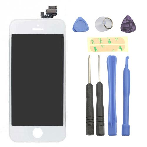 FLY-SHOP-LCD Completo Touchscreen Digitizer e Vetro Frontale per Apple iPhone
