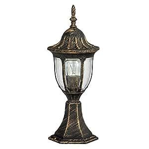 Luminaire petit lampadaire ext rieur lanterne de jardin for Luminaire lanterne exterieur