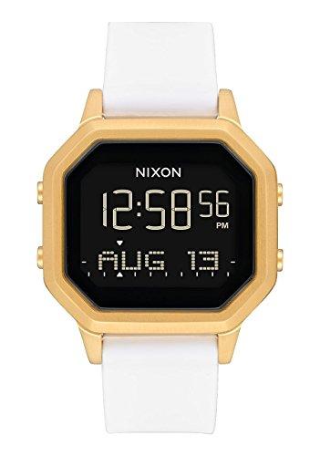Nixon Damen Digital Smart Watch Armbanduhr mit Silikon Armband A1211-508-00 (Nixon-armbanduhr Frauen)