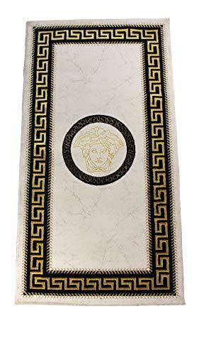 Deko-König Medusa Teppich 80x150 cm (beige/Gold)