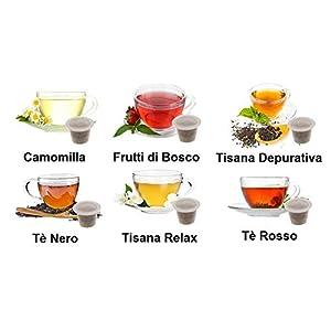 KIT ASSAGGIO TE' & TISANE Lovespresso NESPRESSO® - KIT ASSAGGIO 80 Capsule di tè & tisane compatibili nespresso*