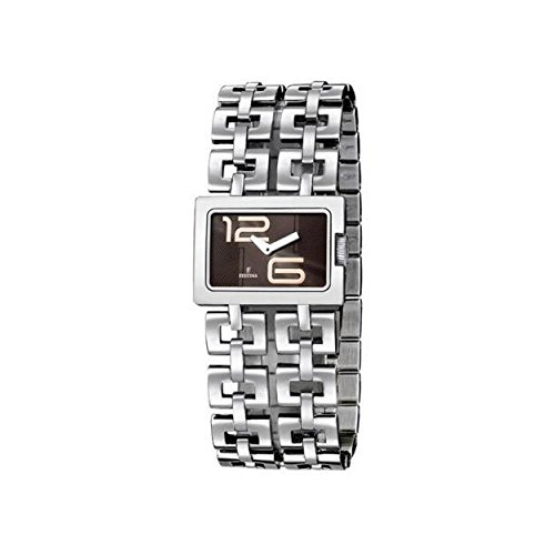 Festina Women's Watch F16300 – 2 Wrist, Strap in Stainless Steel Silver