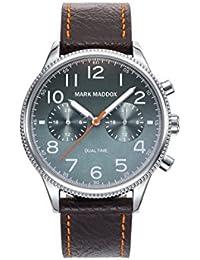 Reloj Mark Maddox Hombre HC2003-65 Dual Time Aviator
