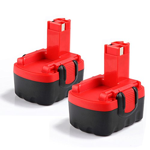 2 X Dosctt Batterie Remplacement pour Bosch 14.4V 3.0Ah Ni-Mh...