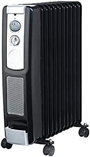 Geepas Oil Filledradiat Heater, Black
