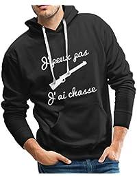 Spreadshirt J Peux Pas J Ai Chasse Sweat-Shirt à Capuche Premium pour c3a8dfd0198b