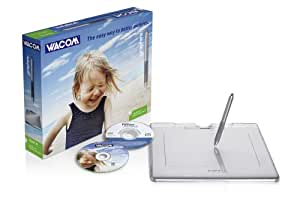 Wacom Graphire4 Classic XL Grafiktablett A5 USB mit Bildbearbeitungssoftware