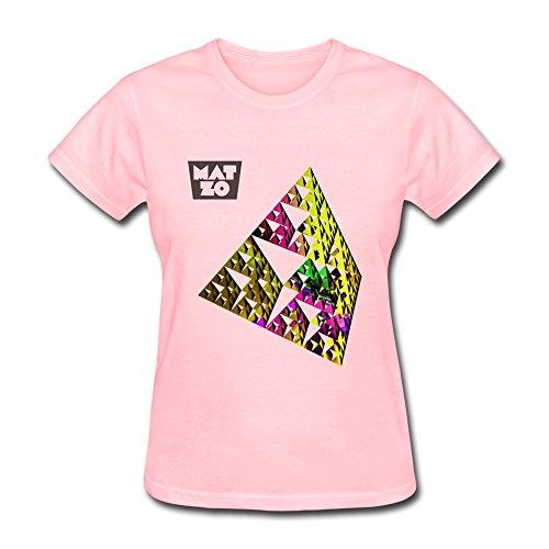 Damen's Mat Zo Matan Zohar T-Shirt- Pink