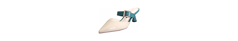 KPHY Zapatos de mujerBaotou Semi - Zapatillas Hembra Desgaste del Verano De Moda Salvaje Rosca Conica con Una... -