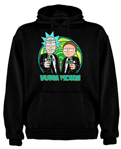Sudadera de Rick and Morty Divertida Friky Smith Tiny niños 9-11Años