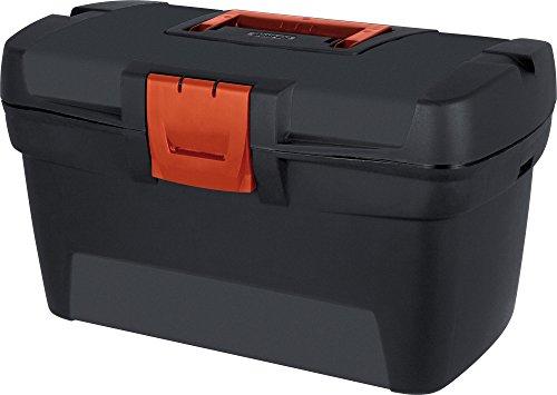 Curver Werkzeugkasten, Plastik, schwarz, 33 x 19 cm