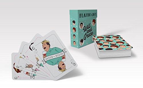 Will & Grace Playing Cards por Chantel de Sousa