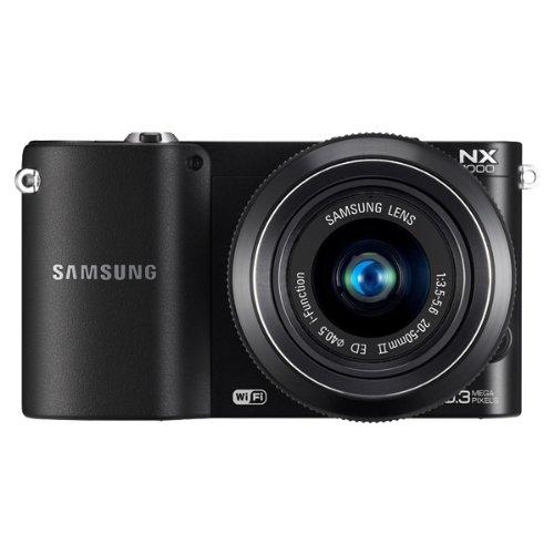 kompakte Systemkamera (20,3Megapixel, WiFi + Objektiv 20-50mm ()