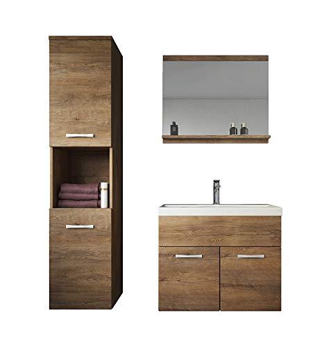 Badplaats B.V. Badezimmer Badmöbel Set Montreal 60 gebraucht kaufen  Wird an jeden Ort in Deutschland