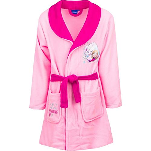 Disney Die Eiskönigin Bademantel DHQ2028, Rosa (Pink 016), 5 Jahre