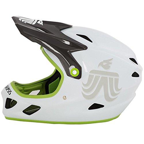 bluegrass Explicit Helm white/black/green Kopfumfang 58-60 Fullface Helm - 4