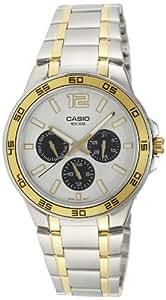 Casio Enticer White Dial Men's Watch - MTP-1300SG-7AVDF (A486)