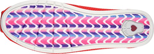 SkechersPlush Lite Custom Built - Sandali con Zeppa donna Rosso