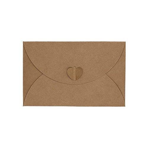 Característica: Cantidad: 50pcs de juego; Material: 250g Pearl papel; Sobre tamaño: 17,5* 11cm/6,9* 4.3inches; Buen tamaño para la celebración de tarjeta de visita, tarjeta de compra, Memo, tarjeta de mensaje; Diseño Especial, Un regalo calentamie...