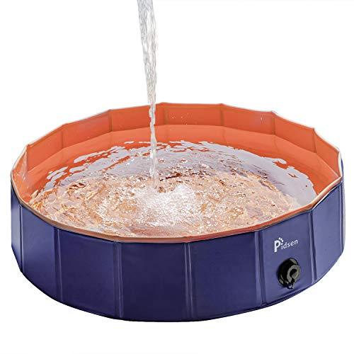 Pidsen Hundepool Swimmingpool PVC tragbare Faltbare Hun…   00190313065879