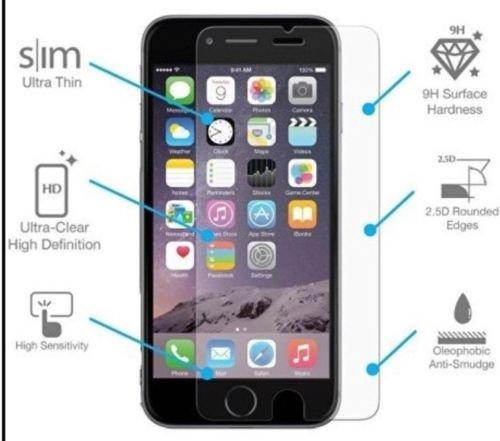 Pellicola proteggi schermo in vetro temprato per iPhone 7