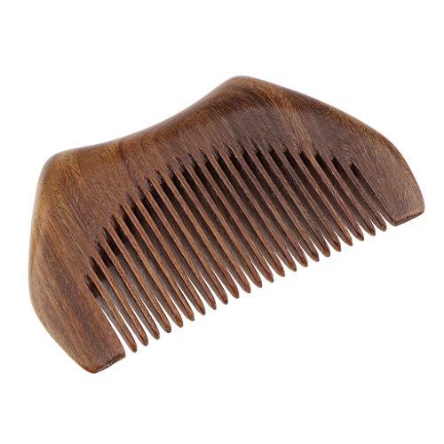 FLAMEER Handgefertigtes Holz Haarkamm Holzkamm Bartkamm Frisierkamm Naturprodukt Haarpflege Griffkamm