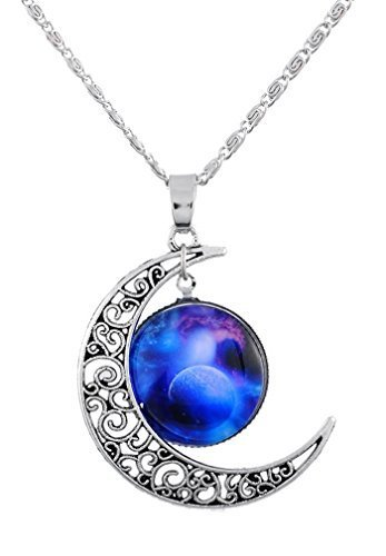 souarts-antique-silver-color-hollow-crescent-moon-galaxy-galactic-universe-glass-cabochon-pendant-ch