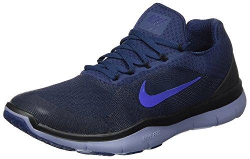 Nike Herren Free Trainer V7 Hallenschuhe, Blau (Bleumarinecollège/bleucielfoncé/Noir/bleuroyalprofond), 43 EU