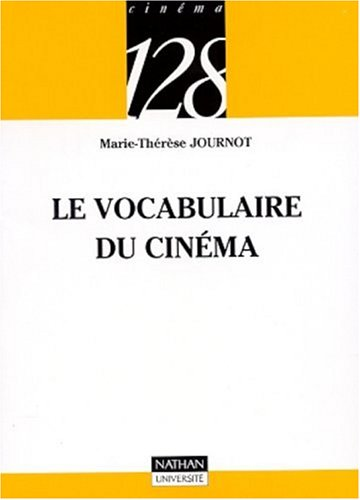Vocabulaire du cinma