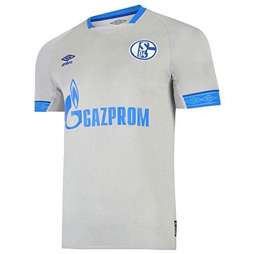 Umbro Herren FC Schalke 04 Away SS Jersey, grau, M