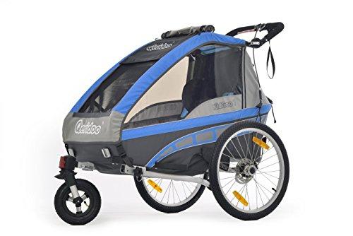 Preisvergleich Produktbild Kinderanhänger Qeridoo KidGoo-1 inkl. Scheibenbremse blue