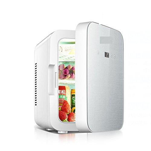 SL&BX 8l auto kühlschrank,Kühlschrank brust milch mini kleinaufbewahrung insulin kühlschrank thermostat zwei welt hostel kühlschrank-Weiß - Kühlschrank Gefrierfach Mit Brust,