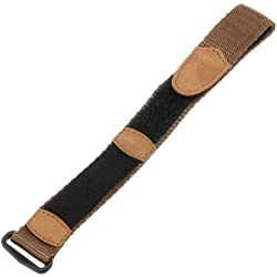 Voguestrap TX046801XL Allstrap 16-20mm Brown Extra-Long-Length Fits Fast-Wrap Expedition Watchband