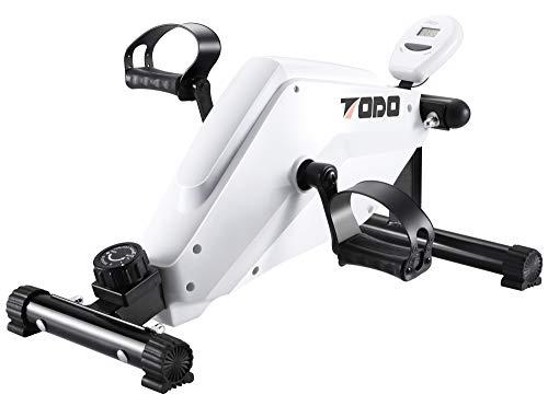FITODO Magnetic Heimtrainer Pedaltrainer Arm- und Beintrainer mit Multifunktions LCD Monitor