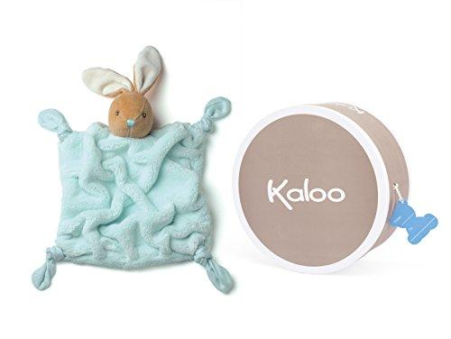 Kaloo K969474 - Plume Doudou Coniglio, Celeste, 20 cm