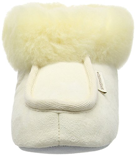Shepherd Moa Eco, Pantofole Donna Bianco (Off White (Relugan 45))